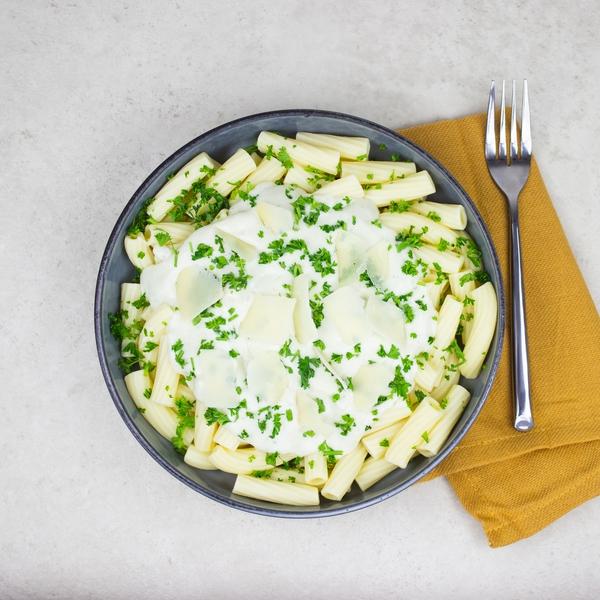 Rigatoni sauce aux 4 fromages