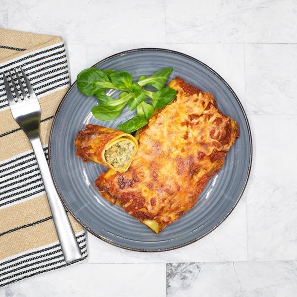 Cannelloni de Boeuf sauce tomate basilic